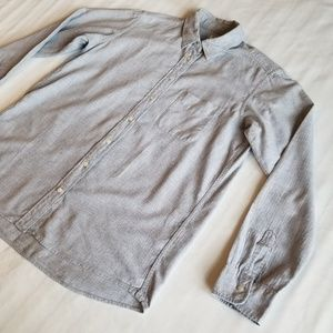 Uniqlo women's flannel longsleeve shirt